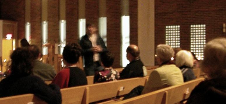 Dennis Preaching
